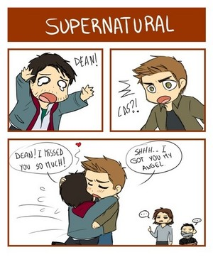 Dean and Castiel ✧