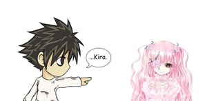 Death Note & Rozen Maiden: L and Kirakishou