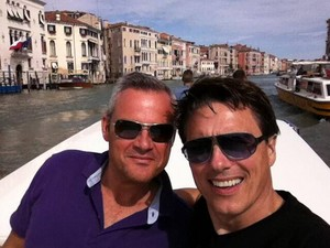 John Barrowman and Gavin Barker!