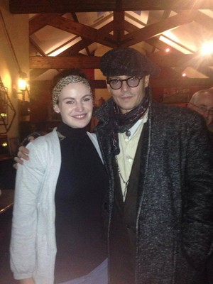 Johnny Depp & Cillian Murphy in Ireland, Nov.3, 2013