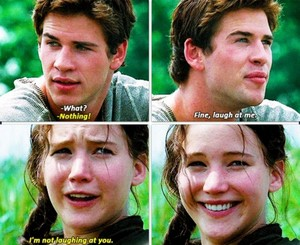 Katniss and Gale ღ