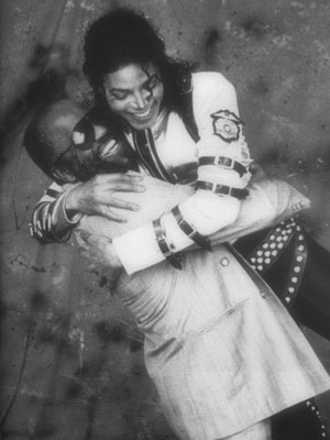MJ and Berry Gordy