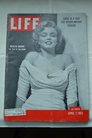 Marilyn On The Cover Of The April 7, 1952 Issue Of LIFE Magazine