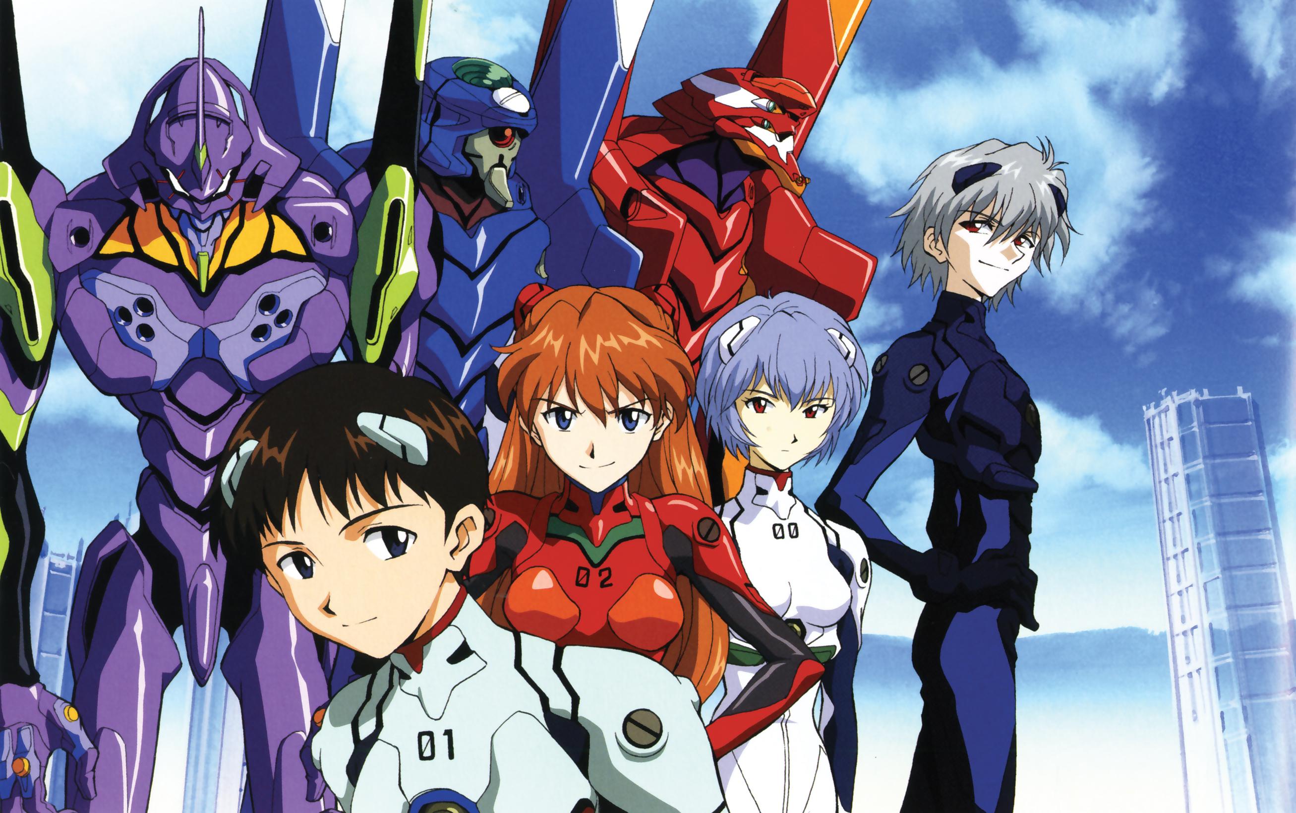 Kết quả hình ảnh cho Neon Genesis Evangelion anime