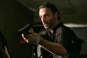 rick and his gun