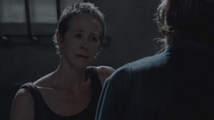 Carol Screencap, '3x08: Made to Suffer'