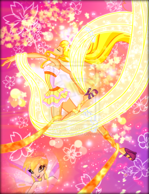 Winx in Transformation: Harmonix (Stella)