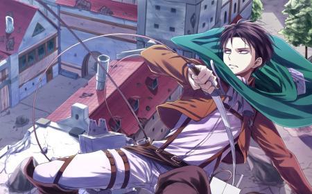Captain Levi - Attack on Titan Photo (36186337) - Fanpop