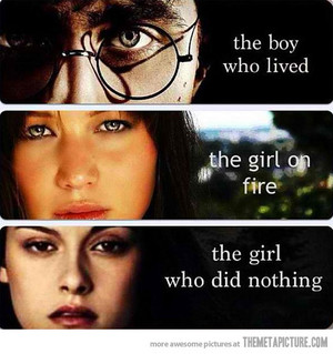 Harry Potter VS Katniss Everdeen VS Bella Swan