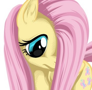Fluttershy Being Shy