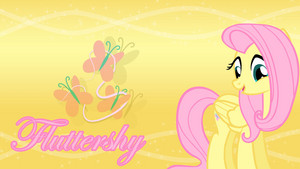 Fluttershy Cutie Mark Wallpaper