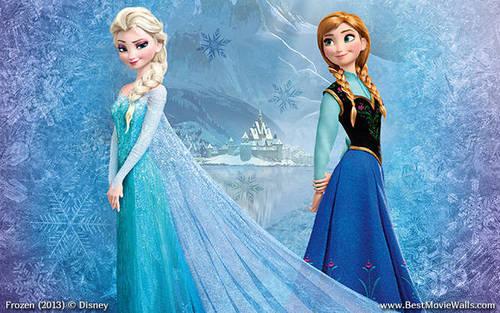 Elsa And Anna Frozen Uma Aventura Congelante Uma Aventura