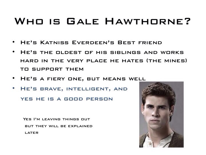 Why Gale is Important (1)