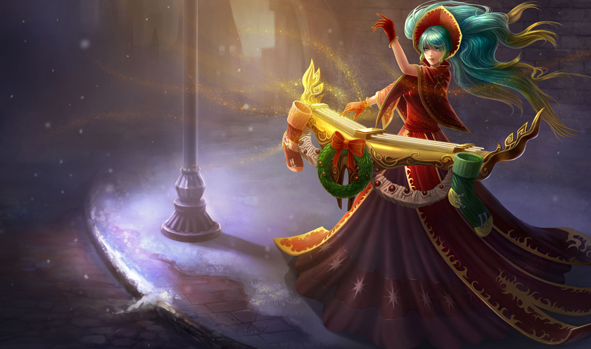 Sona Skin Wallpaper League Of Legends Photo 36140897 Fanpop