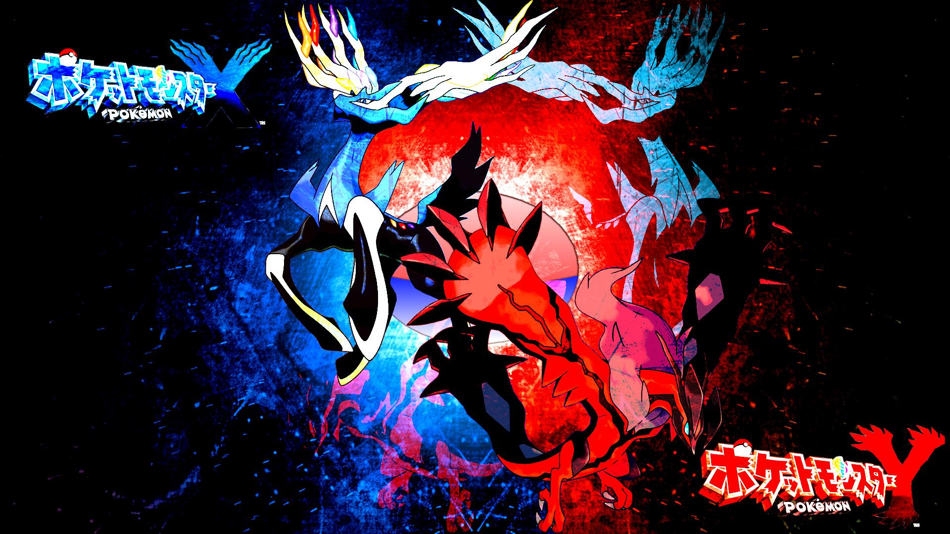 X Y Legendaries Legendary Pokemon Wallpaper 36184599 Fanpop