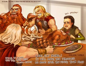 Eating in Asgard