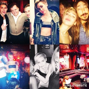 Miley's 21st bday party