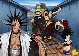 One Piece-crossover