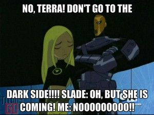 Please don't go, Terra!!!!!!