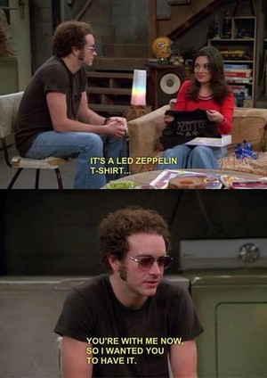 Jackie Burkhart and Steven Hyde (Proof of true love)