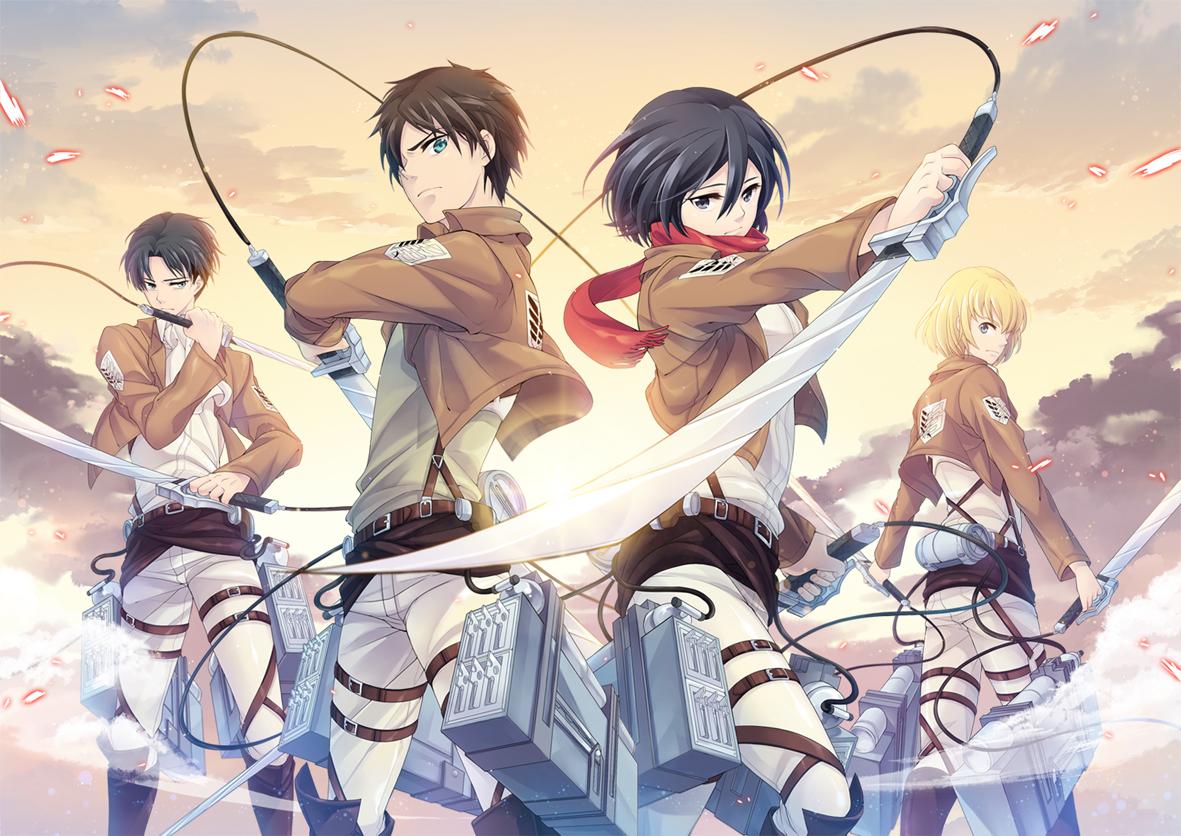 Aot Anime Wallpaper 36273652 Fanpop