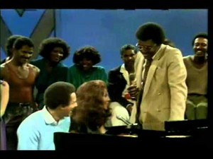"Artetha And Smokey Robinson Talking With Don Cornelius On ""Soul Train"""