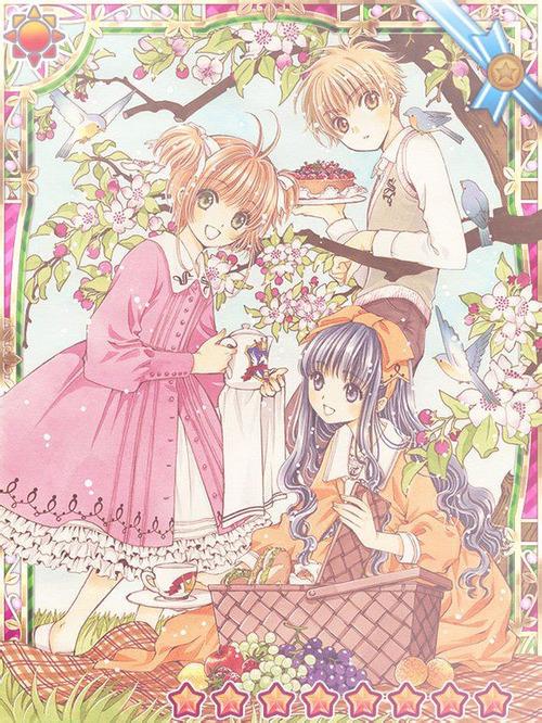 Sakura Tomoyo And Shaoran Sakura Cardcaptors Fotografia