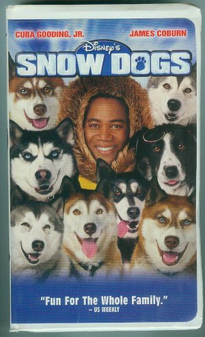 "2002 Disney Film, ""Snow Dogs"" On Videocassette"