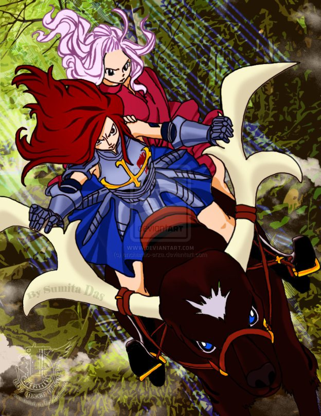 Mirajane Erza Fairy Tail Photo 36289979 Fanpop Page 14 Examples pertaining to 100 years quest can be spoiler tagged if deemed necessary. fanpop