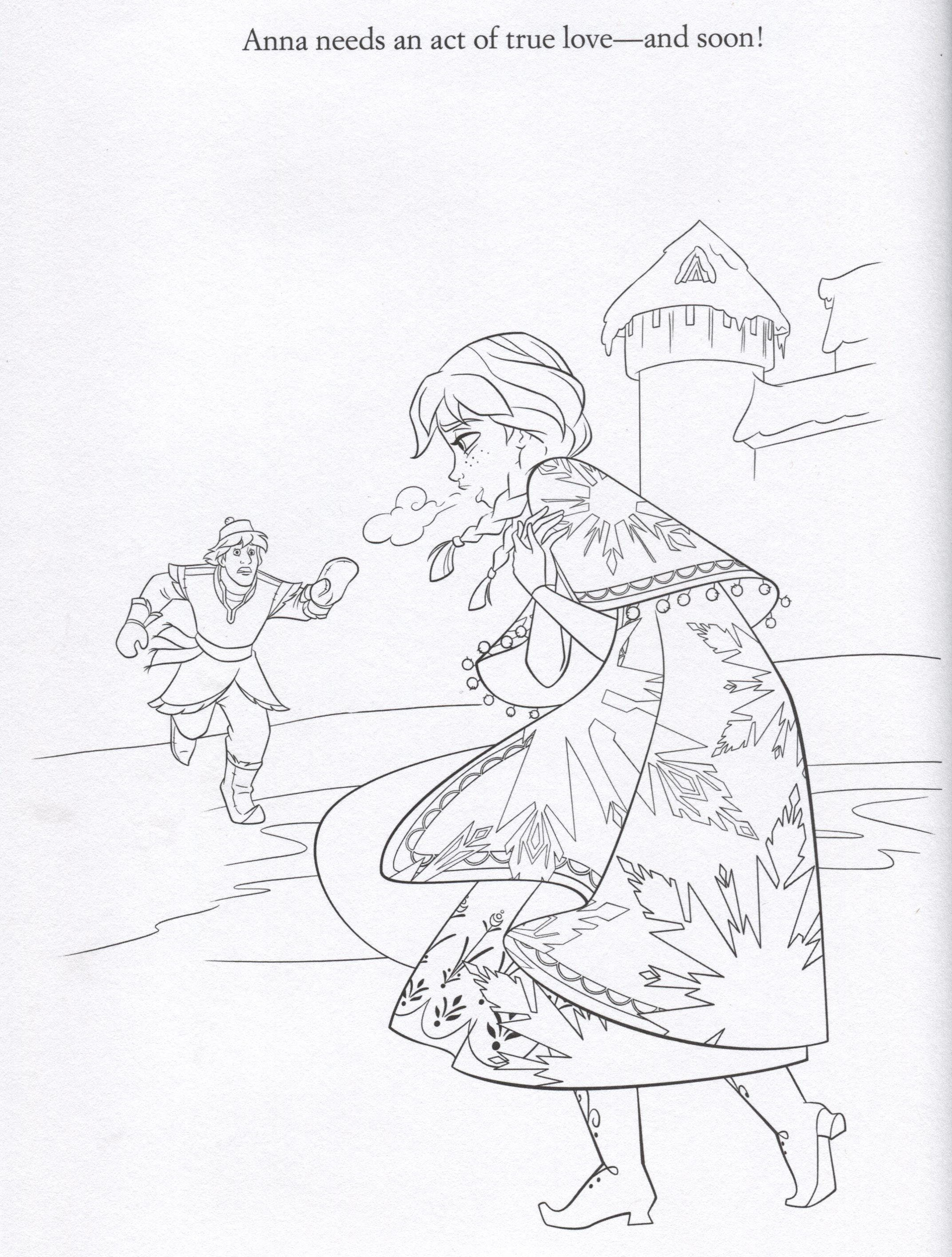 Official Frozen Illustrations (Coloring Pages) - Frozen ...