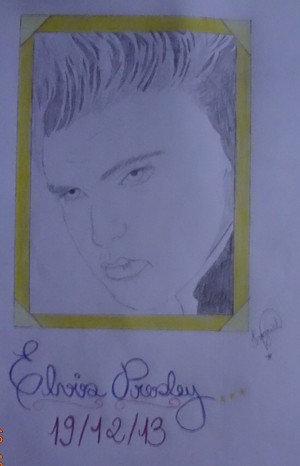 My Elvis Drawing! 💕