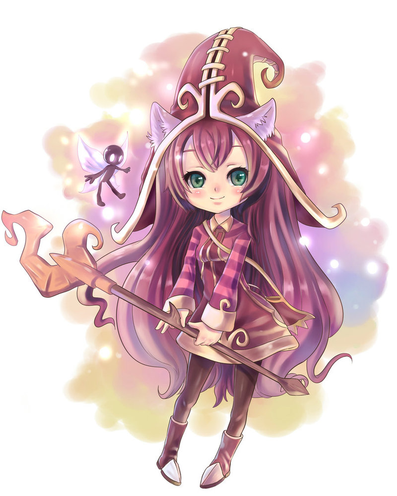 Lulu League Of Legends Fan Art 36235527 Fanpop