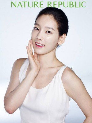 Kim Taeyeon with Nature Republic