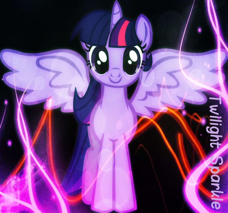 Twilight Sparkle As An Alicorn My Little Pony Friendship Is