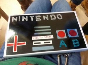 The NES i got for Sint Nikolas (a Dutch tradition)