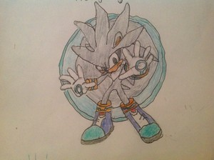 My drawing of silver