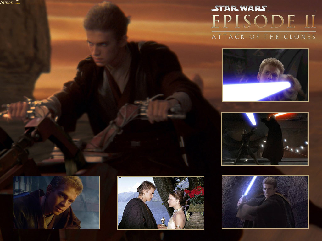 Attack Of The Clones Anakin Skywalker Star Wars Attack Of The