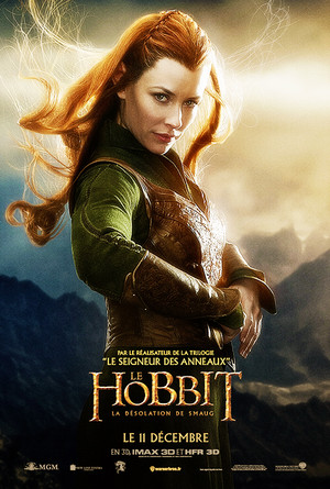 French Tauriel Poster