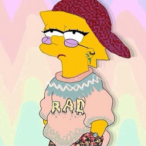 Lisa simpson is rad