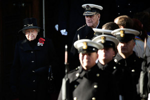 The UK Observes Remembrance Sunday