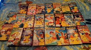 Pokemon VHS Collection
