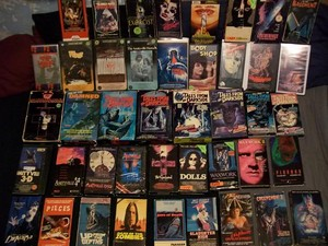 Horror VHS Collection