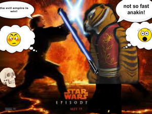 episode 3(tigress vs anakin skywalker