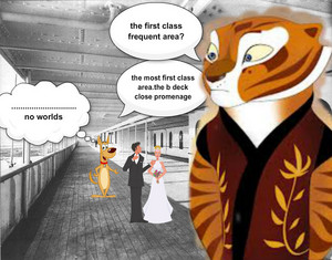 tigress into titanic