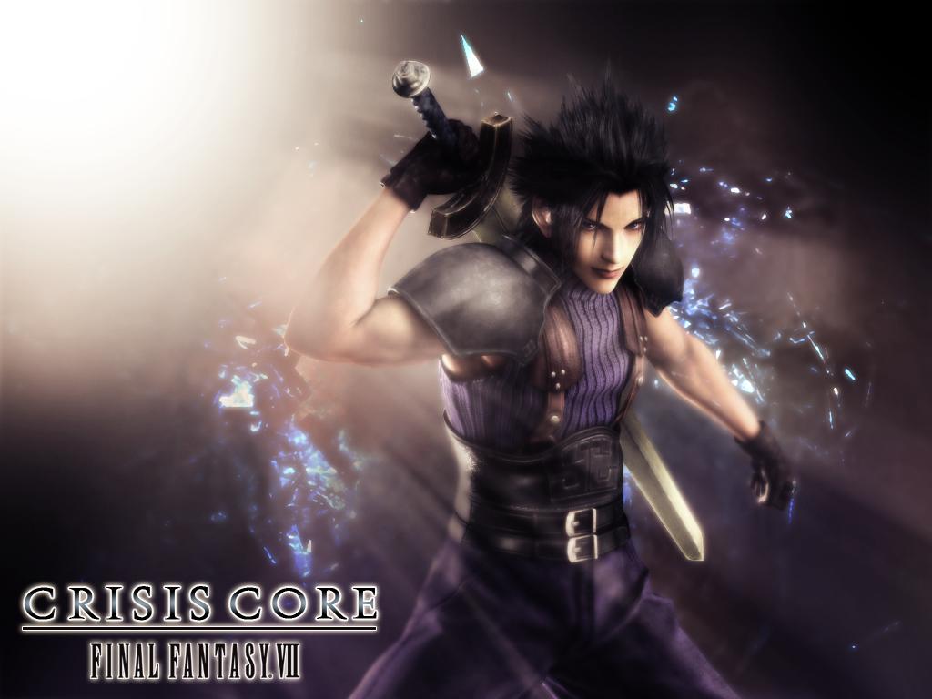 Zack Crisis Core Crisis Core Final Fantasy Vii Wallpaper
