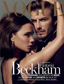 David and Victoria Beckham Vogue
