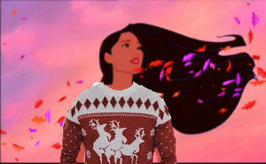 Pocahontas Ugly Sweater