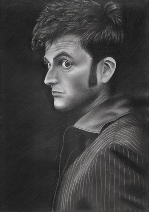 My David Tennant drawing