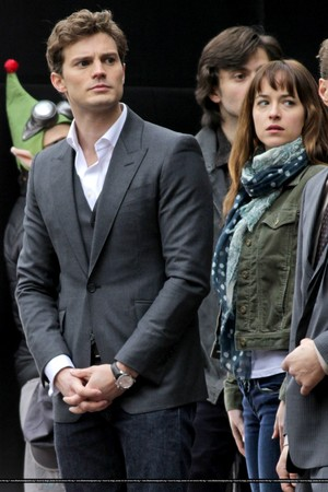 50 Shades of Grey 19th December Filming