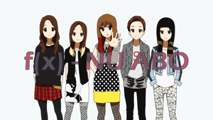 f(x) in K-on!'s No Thank te
